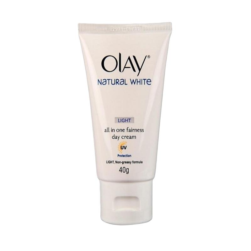 Deoonard 7 Days Whitening Cream Krim Pemutih Wajah: Jual Olay Natural White Light All In One Fairness Day