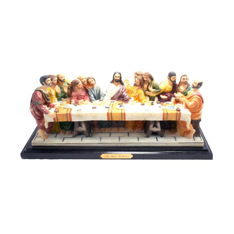 Olday 3D Home Decor EV-SP3902 The Last Supper Patung Keramik