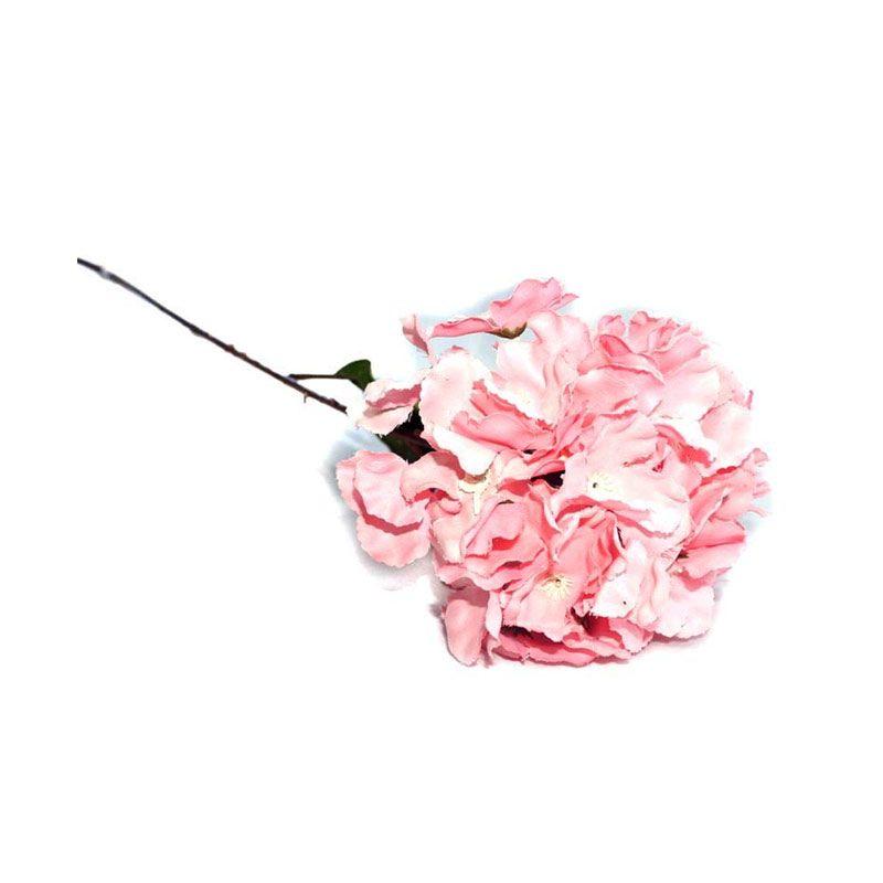 Olday Hortensia AN-B000315PK Pink Bunga Artifisial