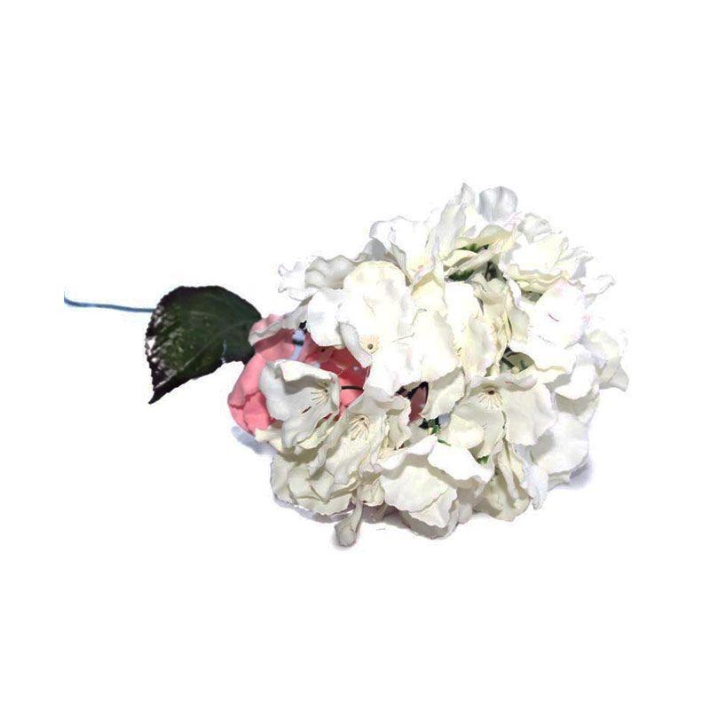 Olday Hortensia AN-B000315PT Putih Bunga Artifisial