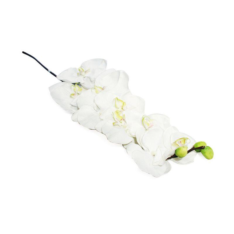 Olday Anggrek Bulan AN-B000313P Putih Bunga Artificial