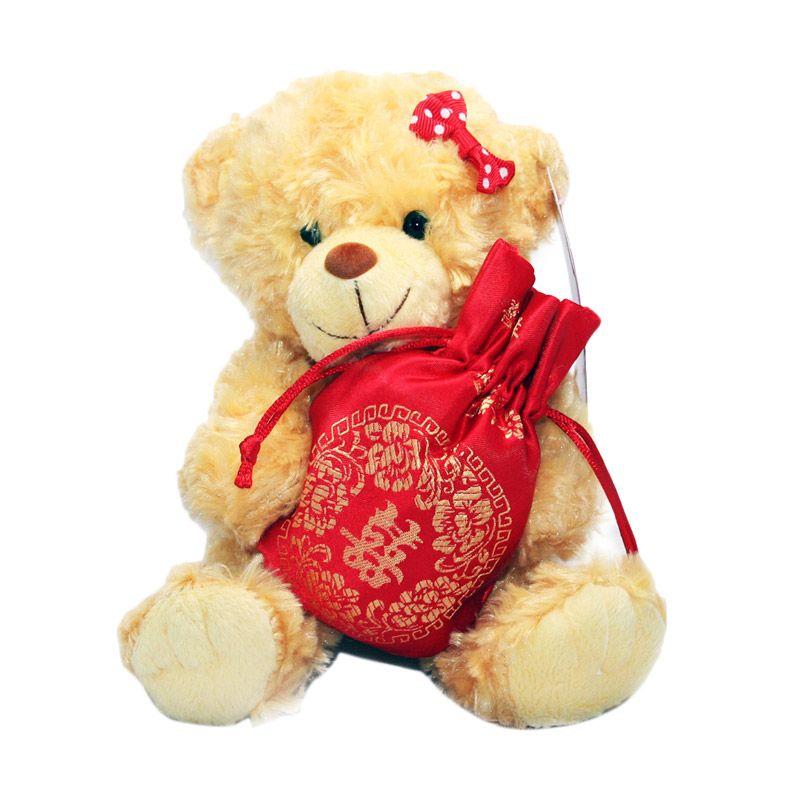 Olday Beruang dengan Tas Boneka Perekam Suara