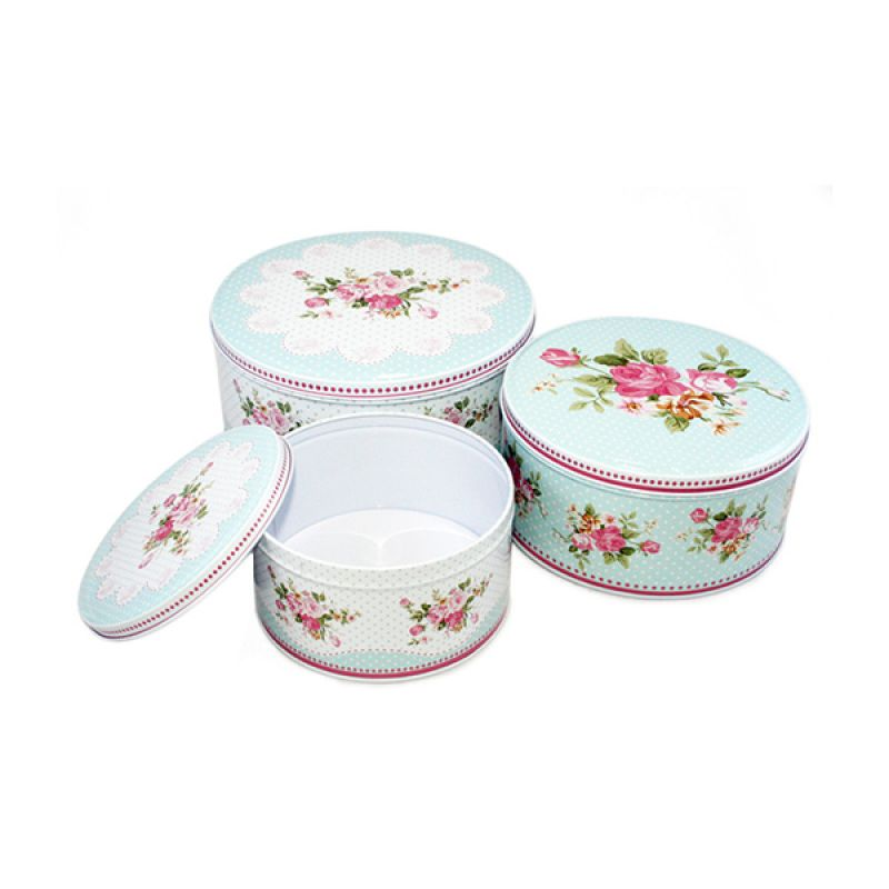 Olday Home Bulat AN-VB09298-A Set Cake Storage Multifungsi [3 Pcs]