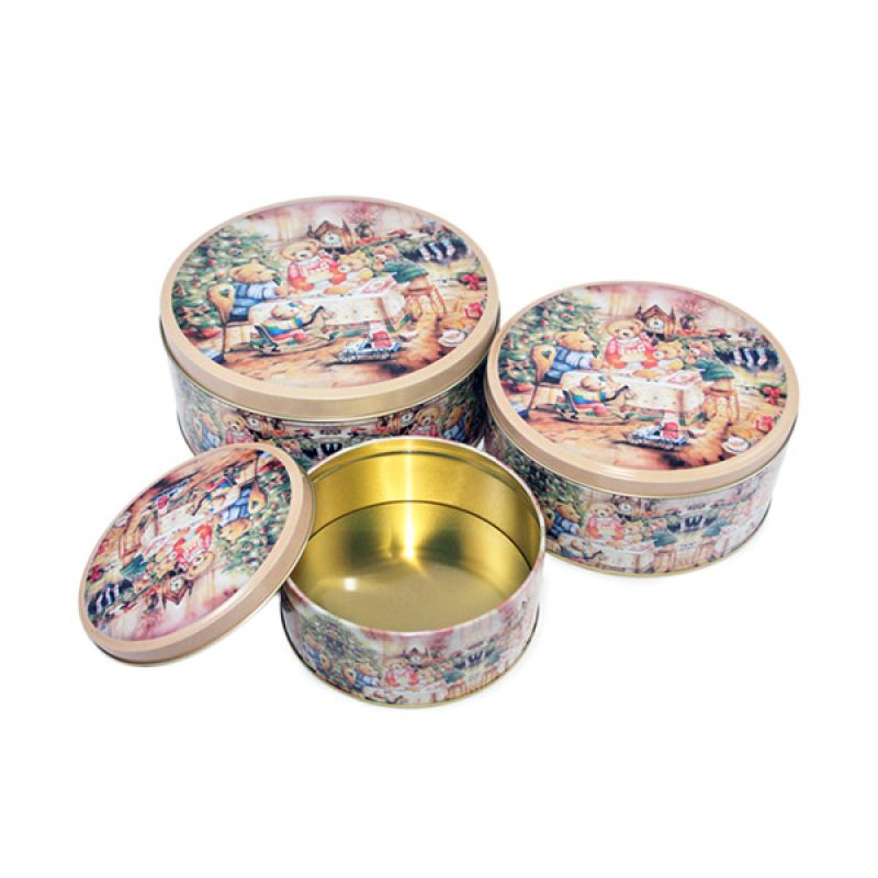 Olday Home Bulat AN-VB09298-B Set Cake Storage Multifungsi [3 Pcs]