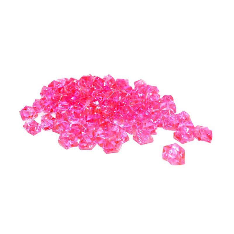 Olday Crystal AN-B000067 Pink Tua Batu Hiasan