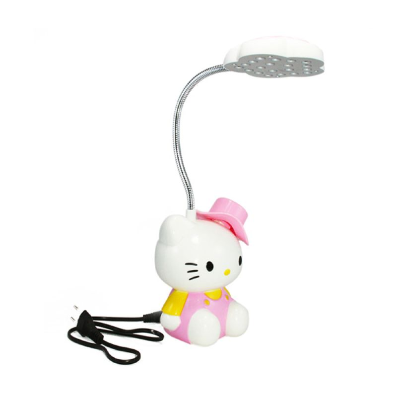 Olday Home Rechargeable Hello Kitty MS-GL094 Pink Lampu Meja