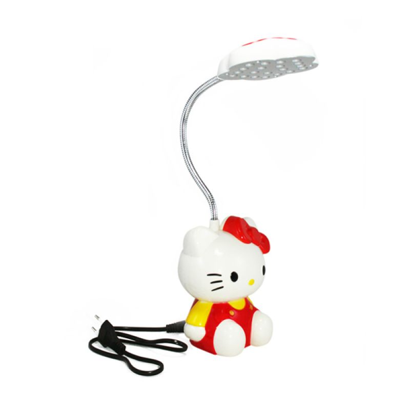 Olday Home Rechargeable Hello Kitty MS-GL093 Merah Lampu Meja