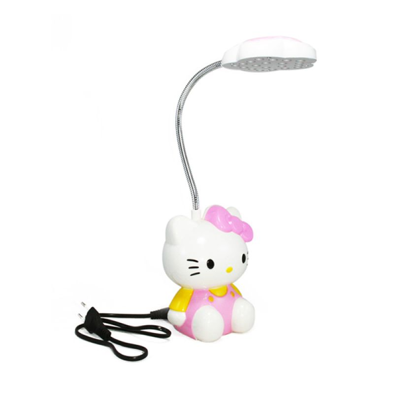 Olday Home Rechargeable Hello Kitty MS-GL093 Pink Lampu Meja