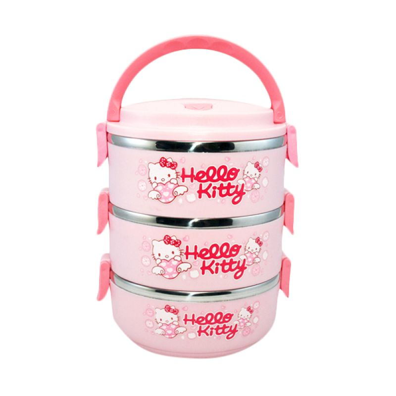 Olday Home Hello Kitty KO-LB304-HK Lunch Box Kotak Makan [3 Susun]