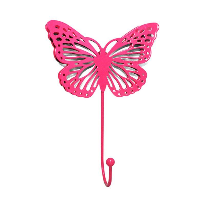 Olday Kupu-kupu AN-VB0269 Pink Gantungan Baju