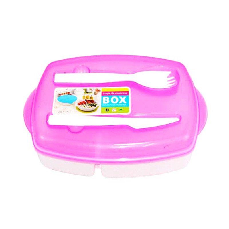 Olday Home MS-1096 Pink Kotak Makan