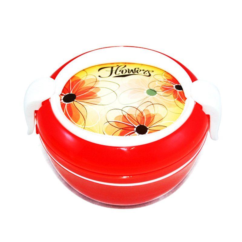 Olday Home MS-419 Merah Kotak Makan