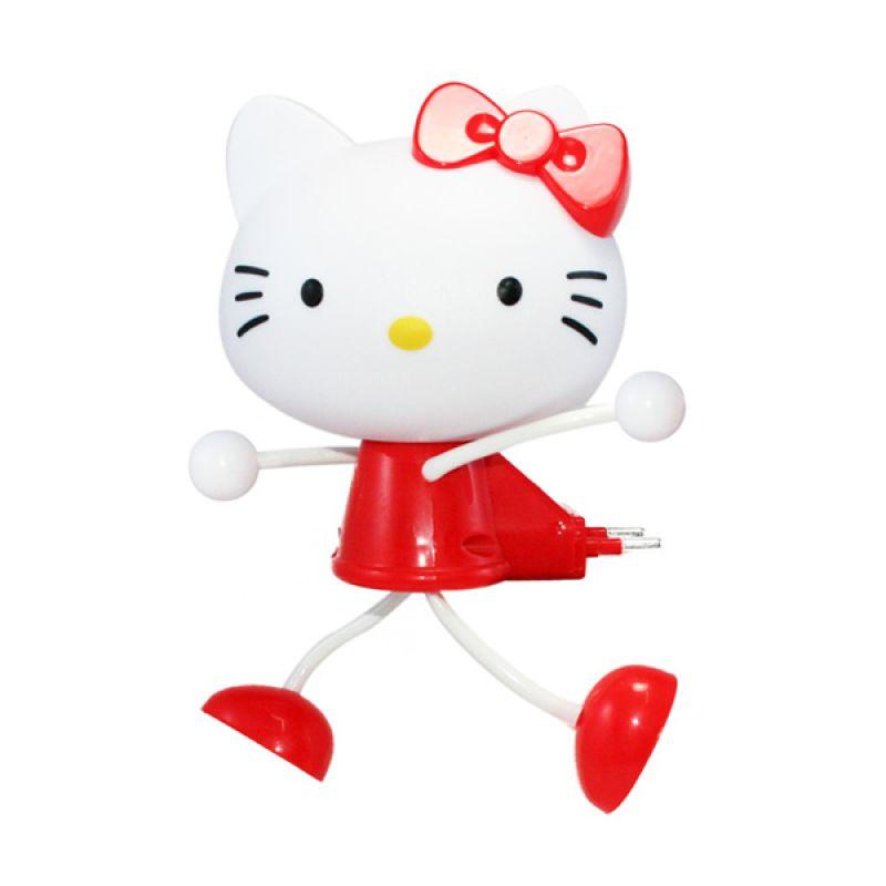 Olday Home LED Photoreceptor Hello Kitty MS-YW01 Merah Lampu Tidur