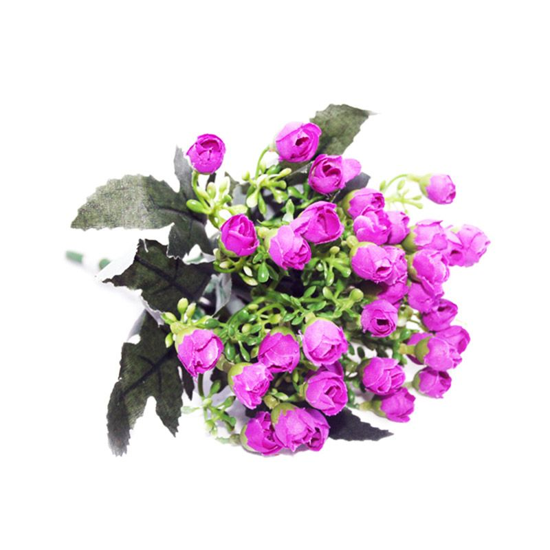 Olday Home Rose Kuncup AN-B000335 Ungu Bunga Artifisial