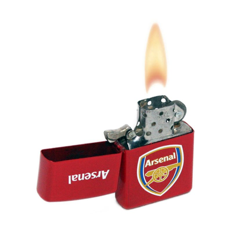 Olday Home Zippo Football Club TOX Arsenal Korek Api