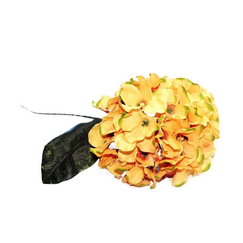 Olday Hortensia AN-B000315A Kuning Bunga Artifisial