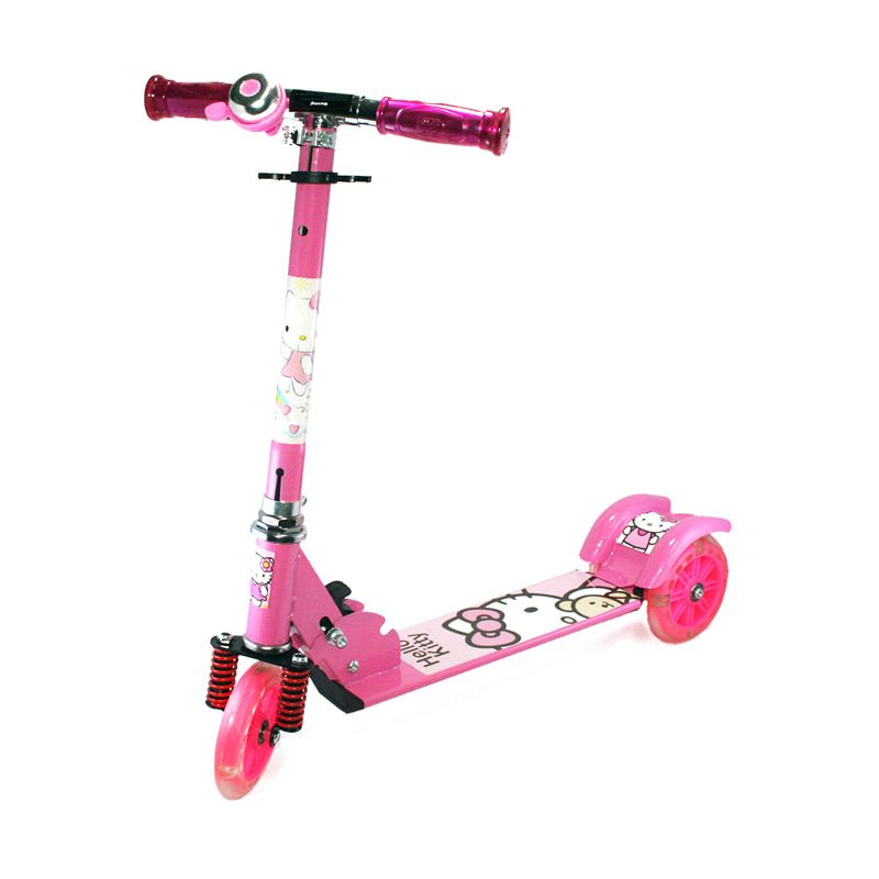 Olday PA-XZX388 Hello Kitty Pink Skuter Anak