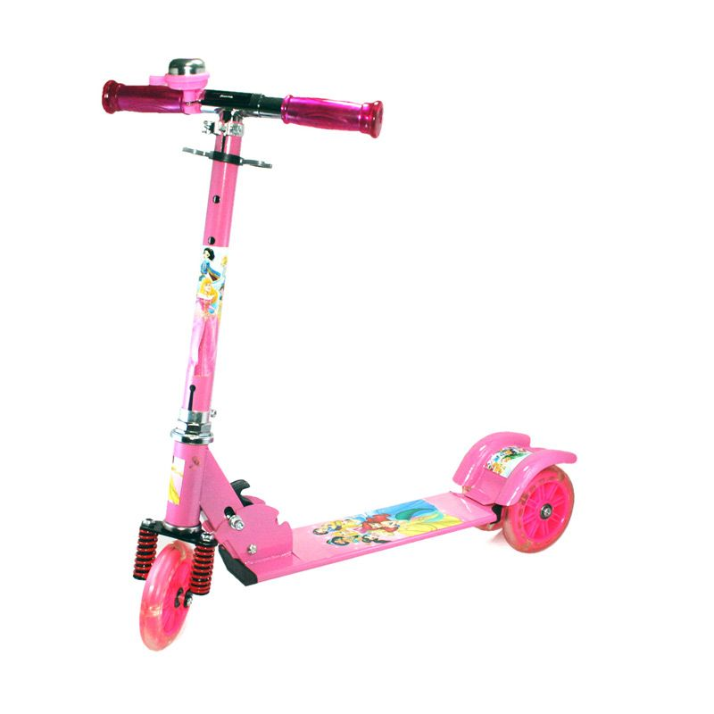 Olday PA-XZX388 Princess Pink Skuter Anak