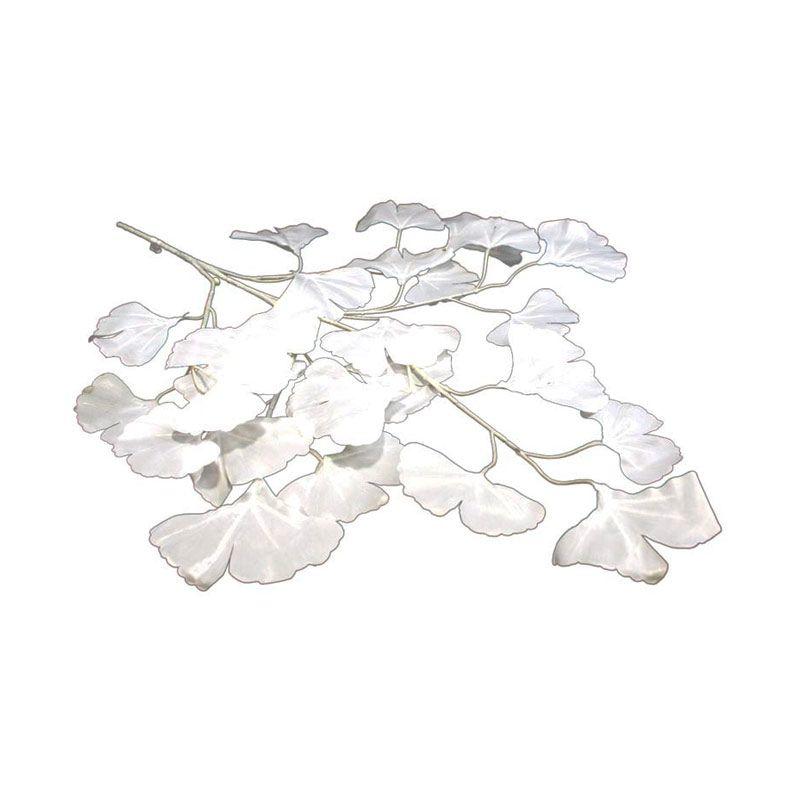 Olday Ranting Daun AN-B000345 Putih Bunga Artifisial