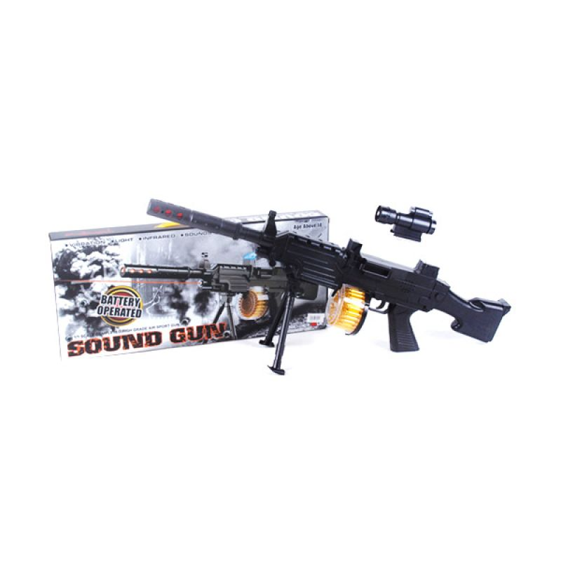 Olday Sound Gun Machine PA-D291083-PISTOL-2 Mainan Anak