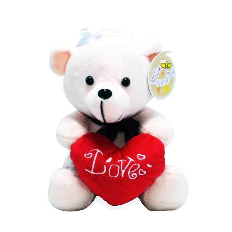 Olday Toys Boneka Teddy Bear Recording PA-TZP003 Pink Mainan Anak
