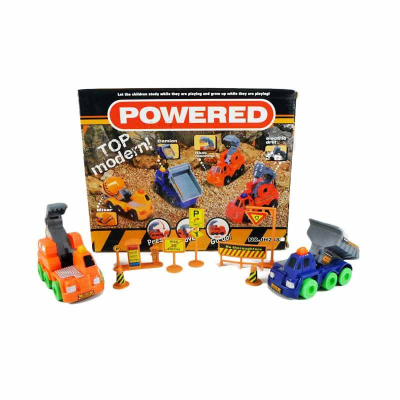 Olday Toys Construction Cars with Signs - 555787