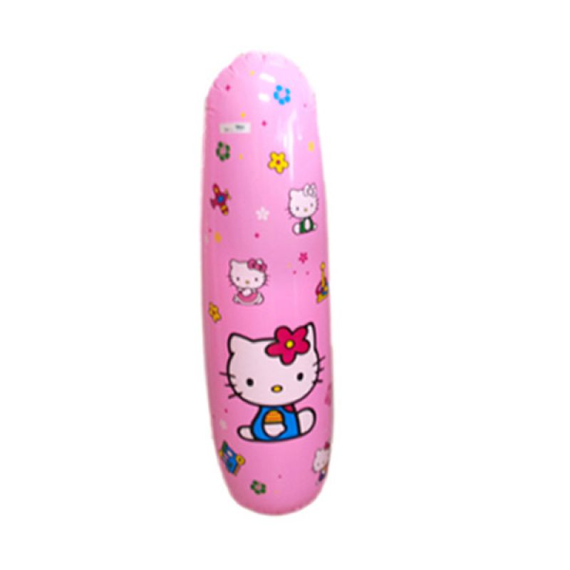 Olday Toys Inflatable Roly Poly Hello Kitty PA-9990063 Pink Balon Tinju [120 cm]