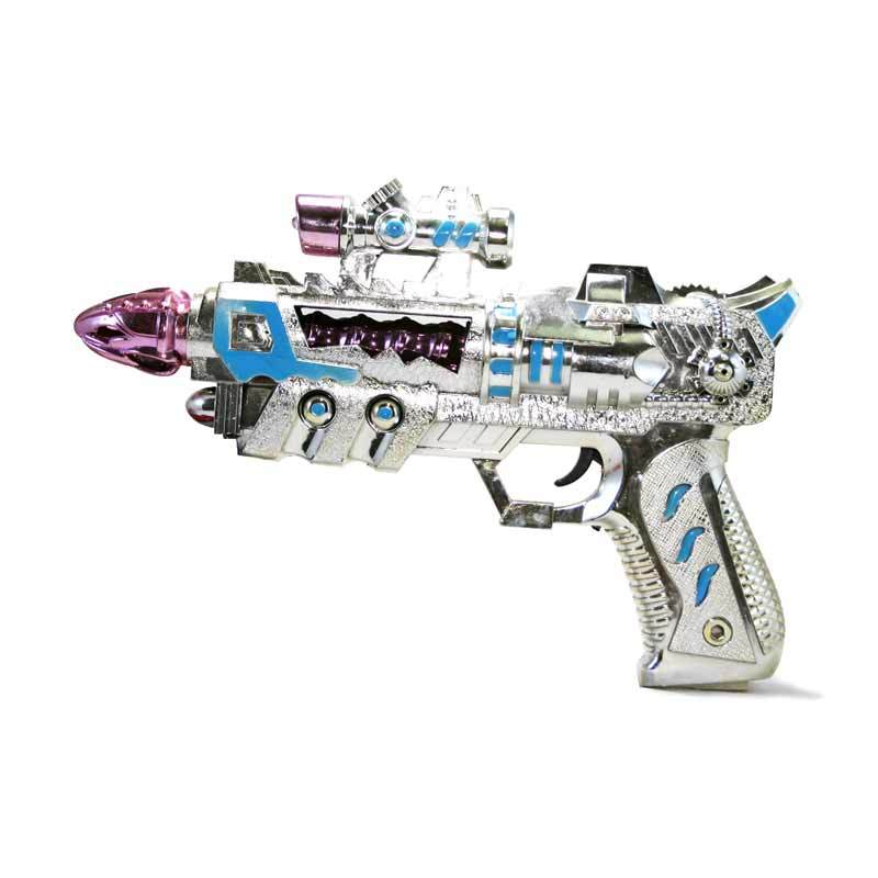 Olday Toys Mainan Pistol Space Gun EV-B5174739 Biru