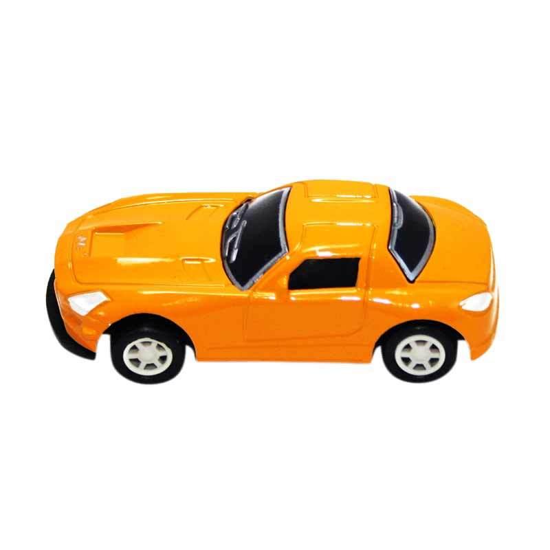 Olday Toys Mobil-Mobilan Die Cast Sport EV-C212874 Kuning Mainan Anak