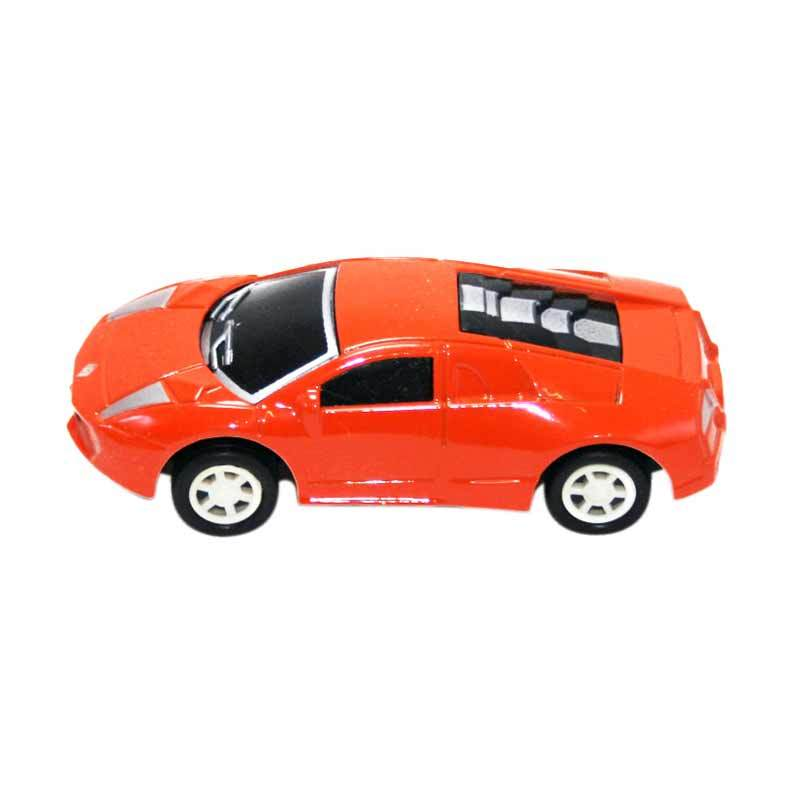 Olday Toys Mobil-Mobilan Die Cast Sport EV-C212874 Orange Mainan Anak
