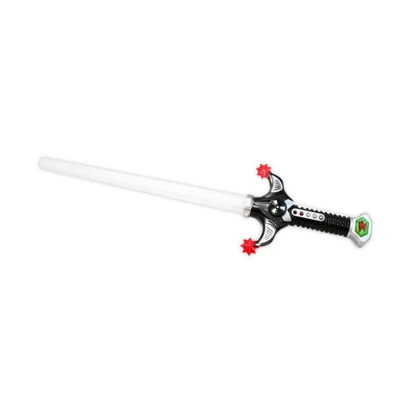 Olday Toys Pedang-Pedangan Super Warrior Menyala EV-7368255 Merah Mainan Anak