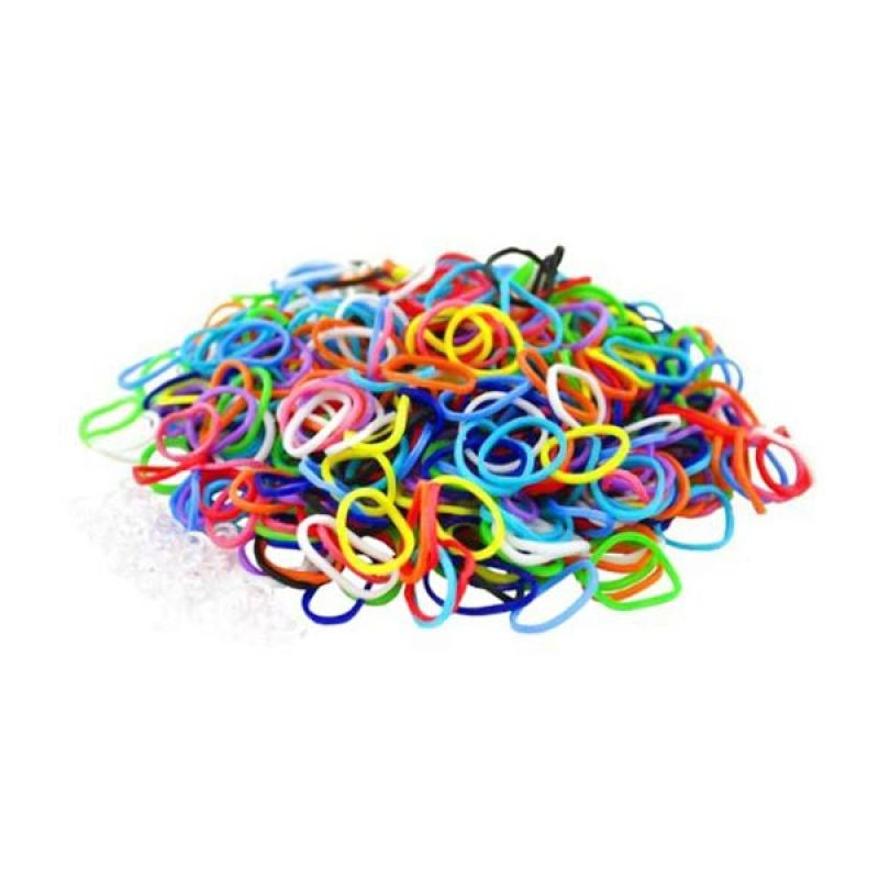 Olday Toys Rainbow Loom Refill 200 Pcs - Mix Colors