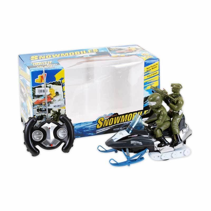Olday Toys Radio Control Snowmobile Ranger Kendaraan Salju Cepat - 8856603