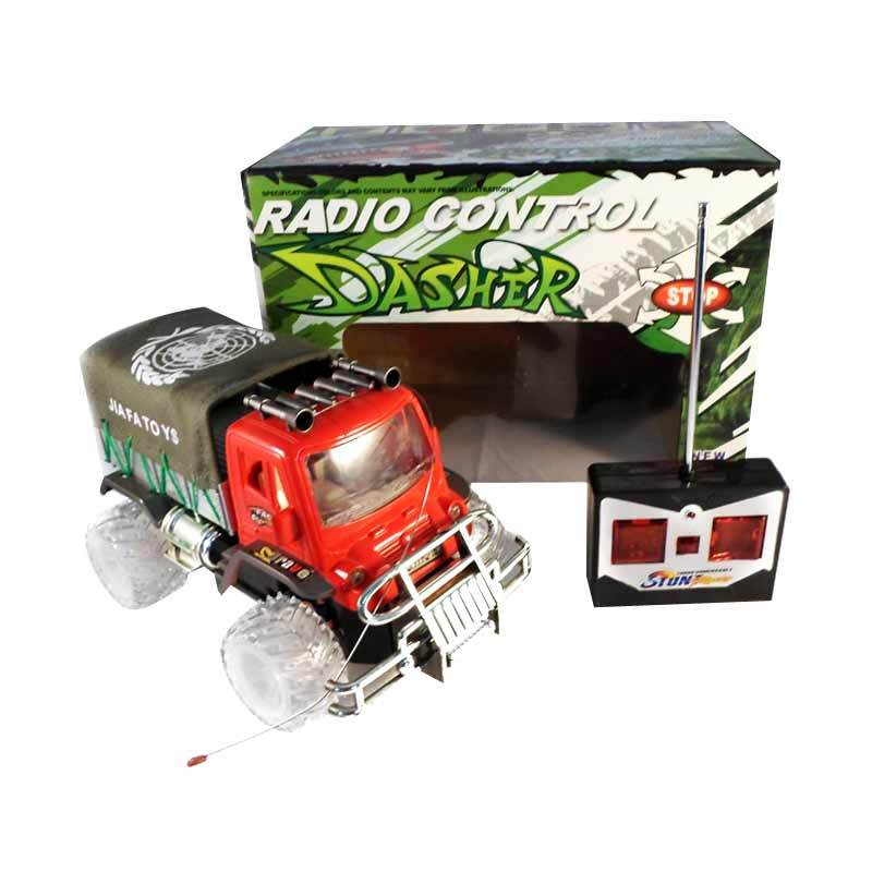 Olday Toys RC Truck Dasher Radio Remote Control Truk - EV-501796 - Red