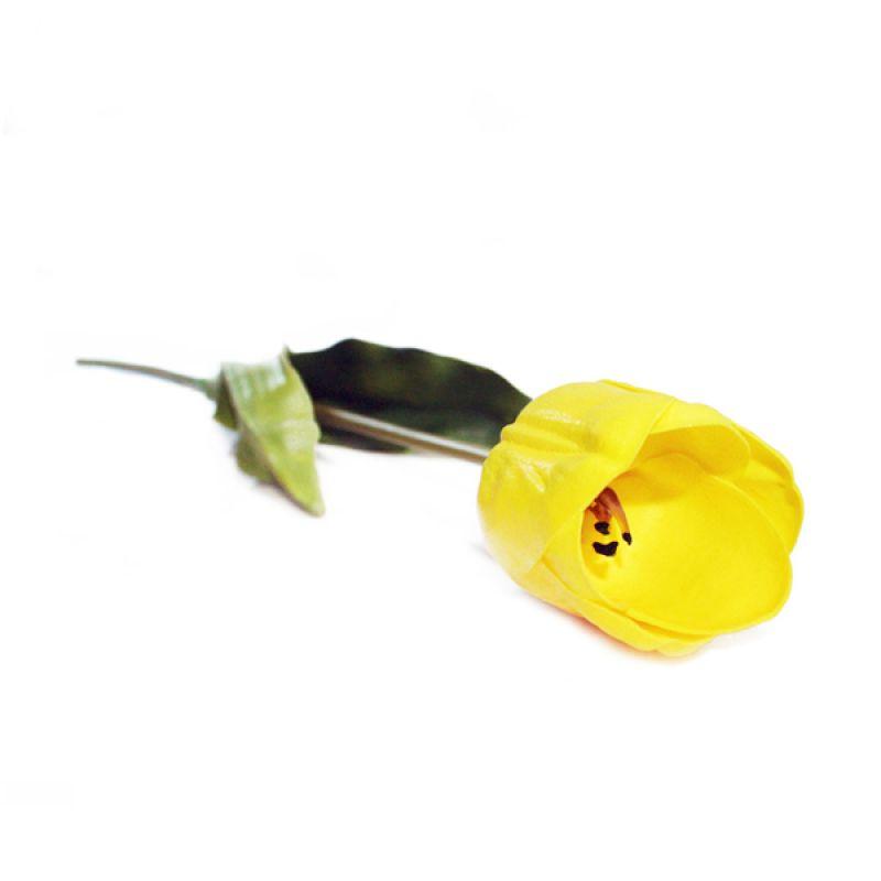 Olday Tulip Besar ANB000166 Kuning Bunga Artificial