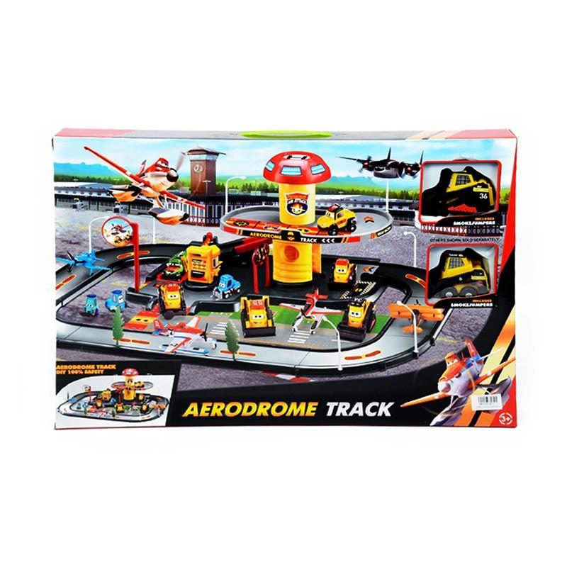 Otoys PA-E691411 Aerodrome Track Set Mainan Anak