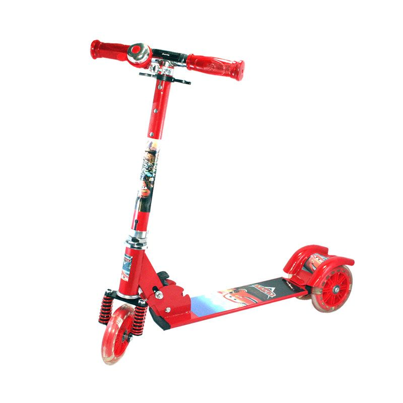 Otoys Cars PA-XZX388 Merah Scooter