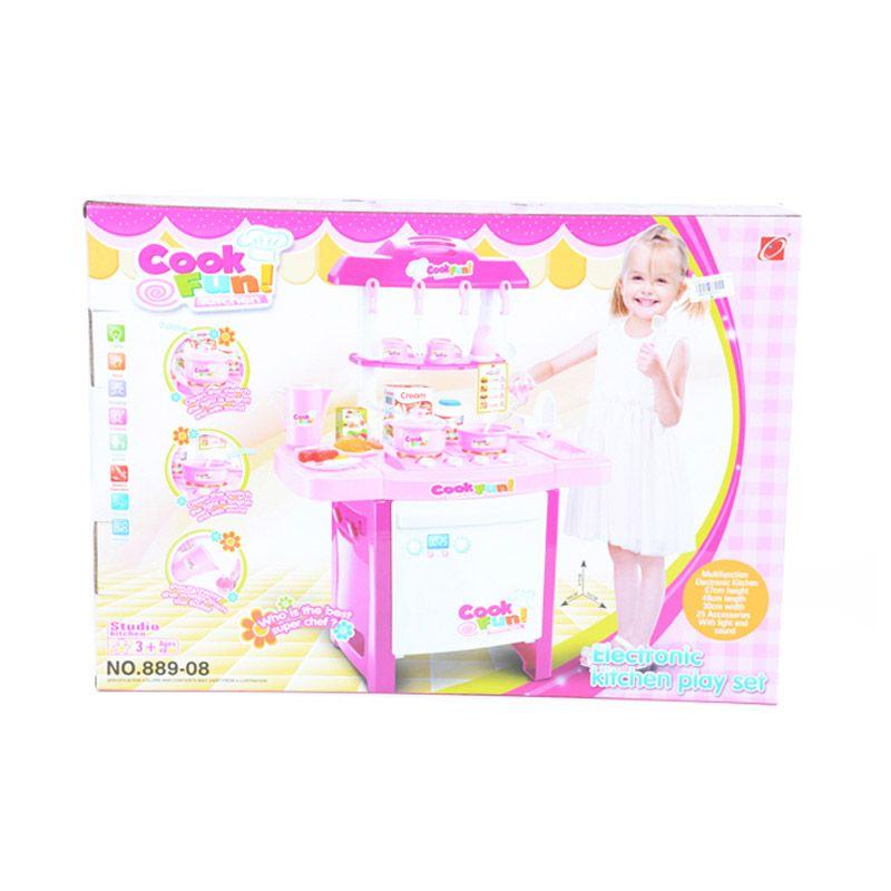 Otoys Dapur Cook Fun Kitchen PA-E040522 Mainan Anak