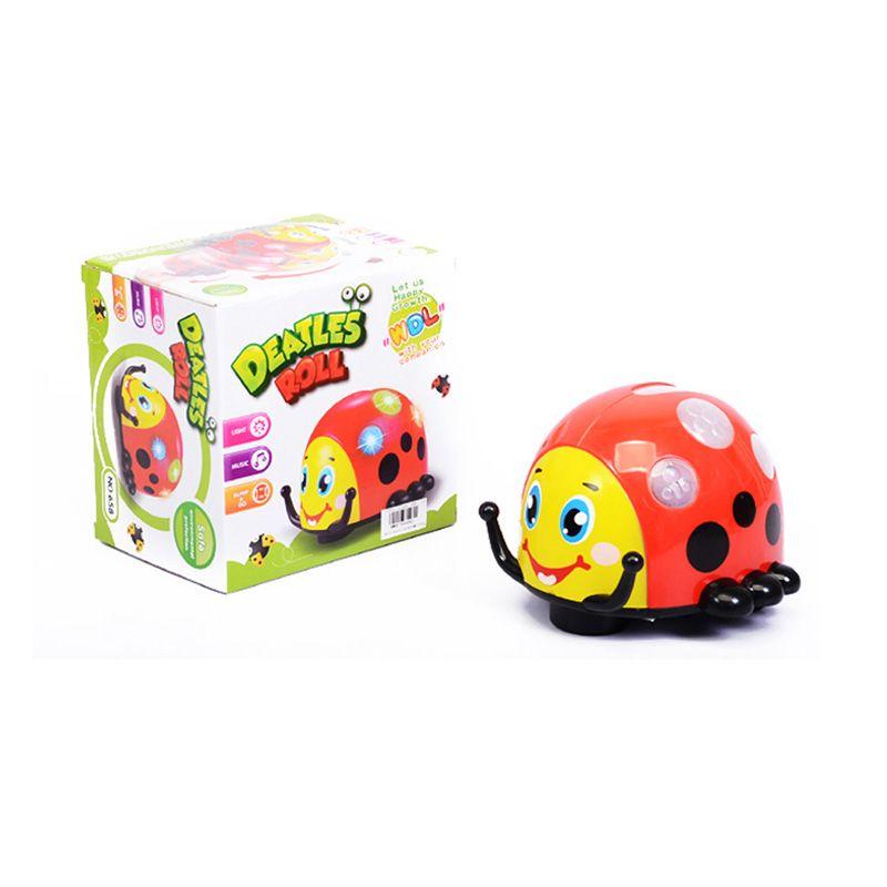 Otoys Deatles Roll Kumbang with Lamp & Music EV-E754492 Mainan Anak