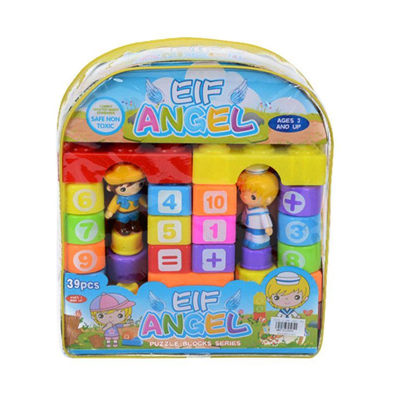 Otoys EIF Angel Puzzle Block Series PA-F352695 Mainan Anak [39 Pcs]