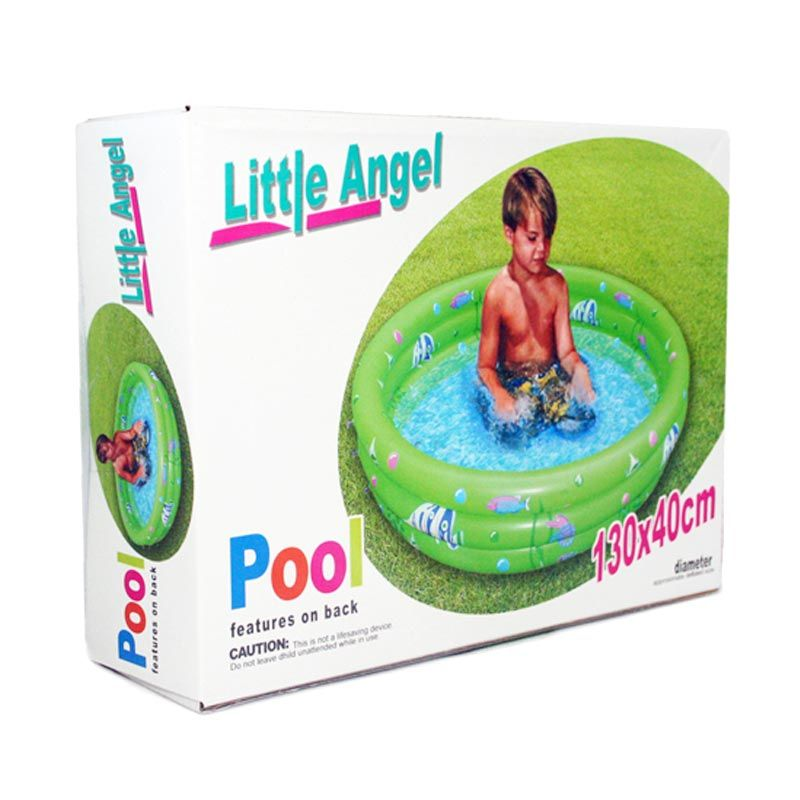 Otoys Inflatable Pool Little Angel Kolam Renang Anak [130 x 40 cm]