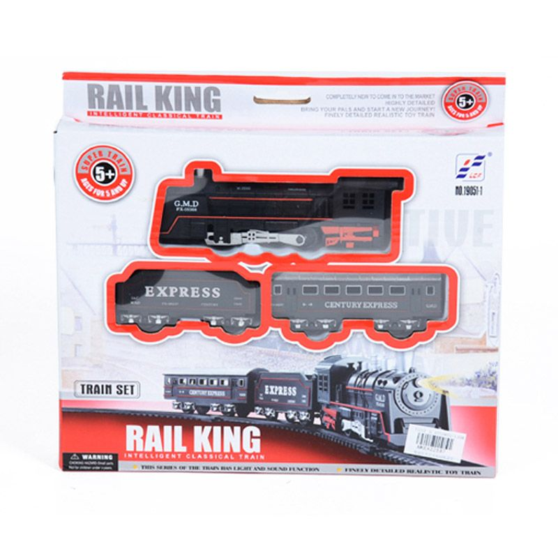 Otoys Kereta Rail King Train Set PA-E422887 Mainan Anak
