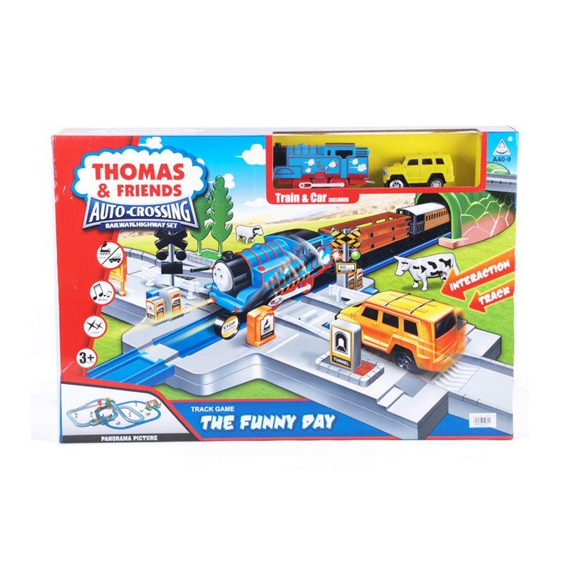 Otoys Kereta Thomas N Friends Auto Crossing PA-B459907 Mainan Anak