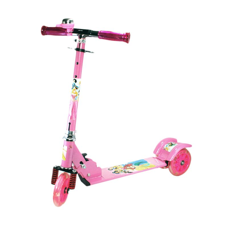 Otoys Princess PA-XZX388 Pink Scooter