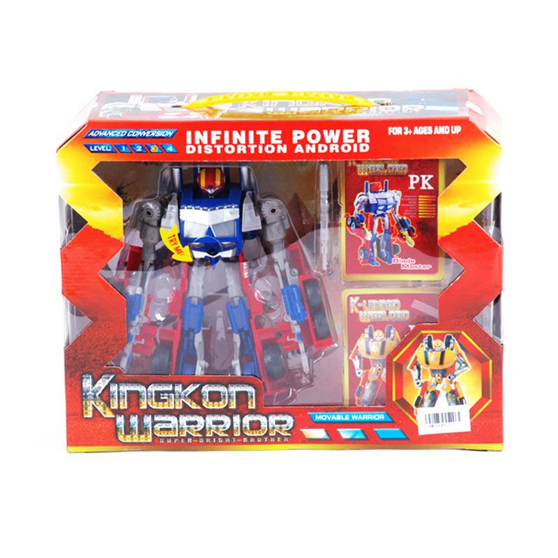 Otoys Robot Kingkon Warrior Infinite Power Transformers PA-8845227 Mainan Anak