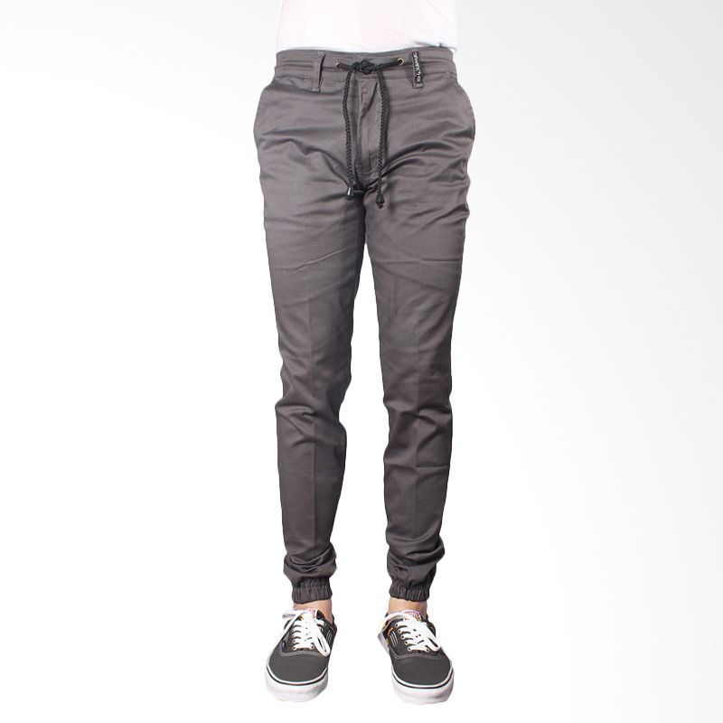 Oliveinch Jogger Grey Celana Panjang Pria