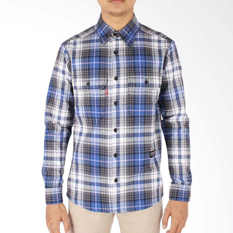 Oliveinch Series 2 Flanel Shirt Gloomy Kemeja Pria