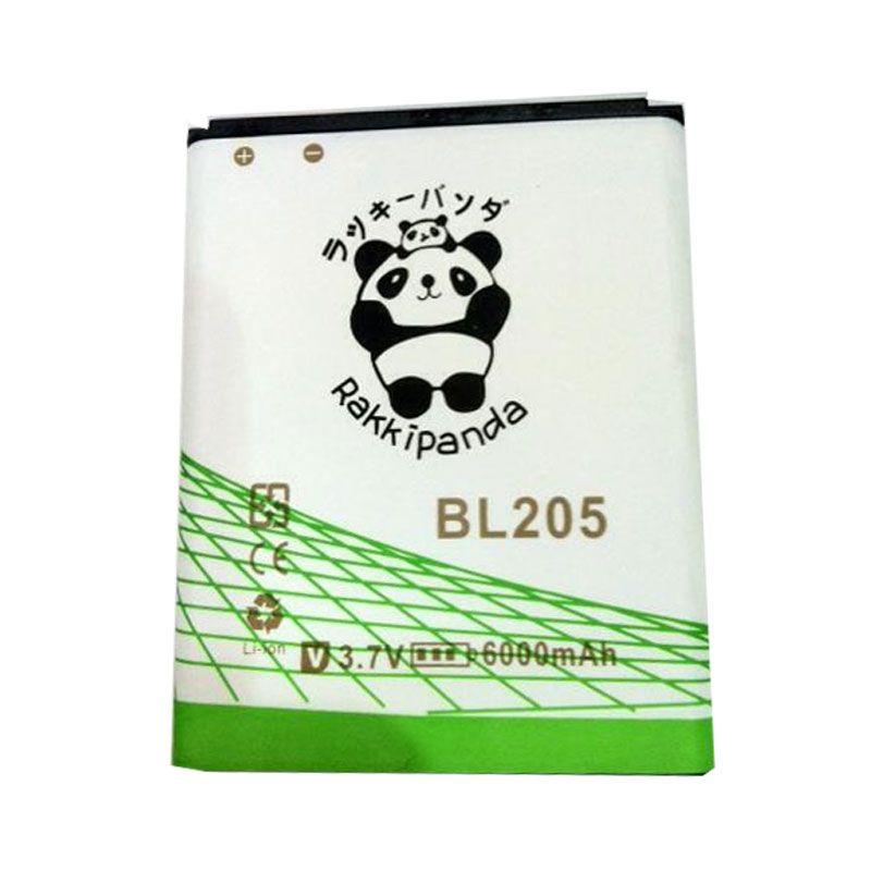 BATTERY BATERAI DOUBLE POWER DOUBLE IC RAKKIPANDA BL205 LENOVO P770 6000mAh