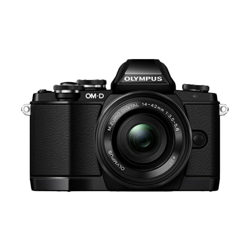 Olympus E-M10 1442 EZK (G) Hitam Kamera Mirorless