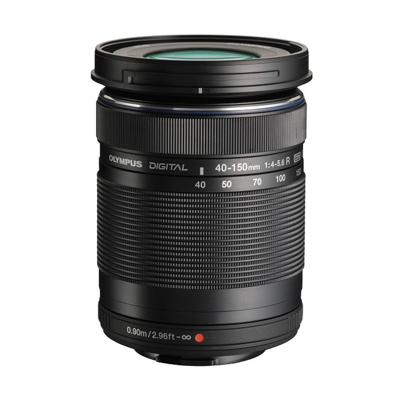 harga Olympus M Zuiko Digital ED 40-150mm f/4.0-5.6 R Lensa Kamera - Black Blibli.com